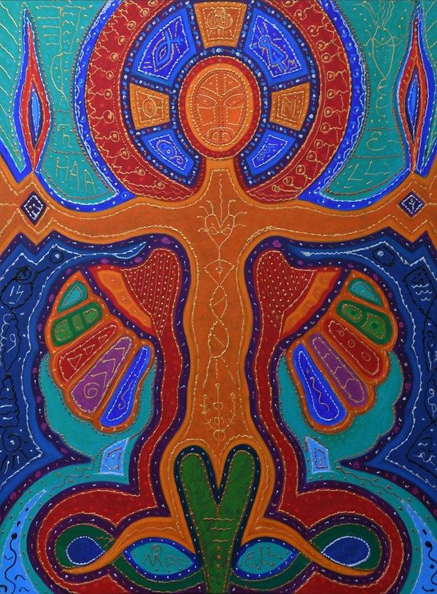 Anne Furnaris, Heart of Heavens IV, Fine Arts in Michigan, Fine Arts in USA, Professional Artists in Michigan, Professional Artists in USA, Visual Arts in Michigan, Visual Arts in USA, Esoteric-Hermetic Art,
