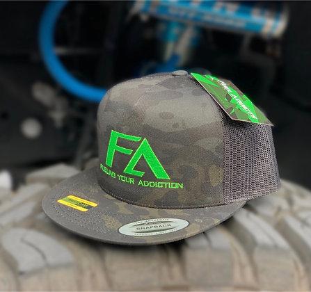 Trucker Hat SnapBack (Camo)