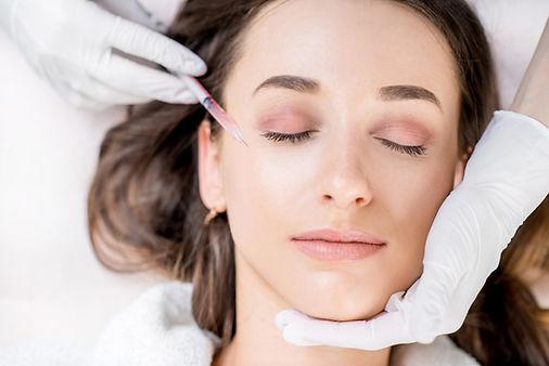 Botox filler ร้อยไหม v square clinic