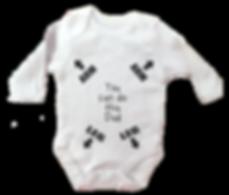 custom baby grow print ireland