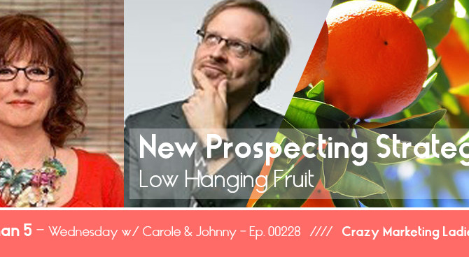 Ep.228 - New Prospecting Strategies // The Low Hanging Fruit