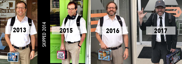 Johnny Gwin - First Day of School pics - 2013-2017