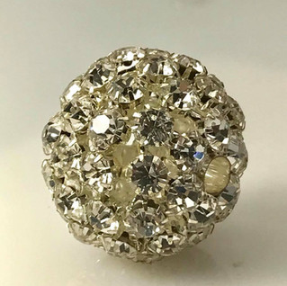 Sterling 'Disco Ball' pendant