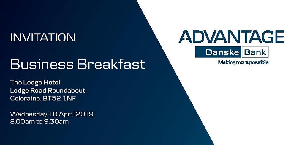 Danske Bank Advantage Business Breakfast