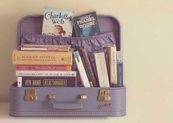 10 libri da portare in viaggio.