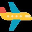 Icona cancellazione volo e volo in ritardo