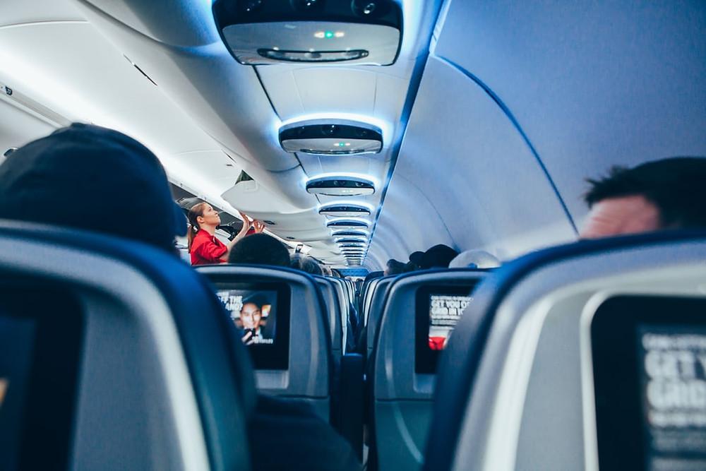 Coronavirus in aereo: quali i posti più sicuri per evitare il contagio?
