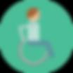 icona assistenza viaggiatori disabili