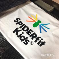 Screen Printing - SpiderFit Kids