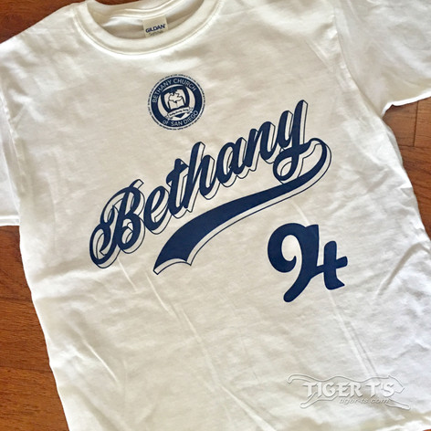 Screen Printing - 1 color - Bethany Church