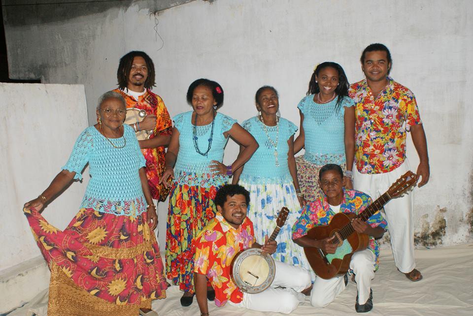 Família Menezes - quintal de casa