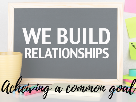 Building professional relationships.