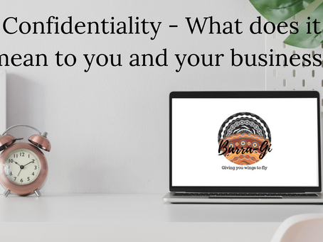 What does confidentiality mean to us.