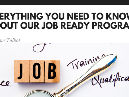 Everything you need to know about our Job Ready Program