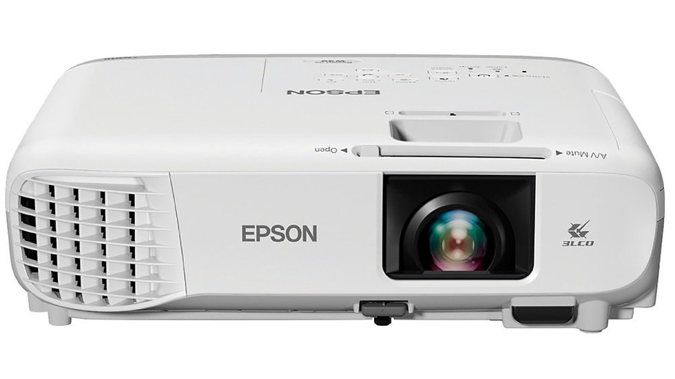 Projetor Epson S39, 3300 Lumens, SVGA, HDMI, Branco