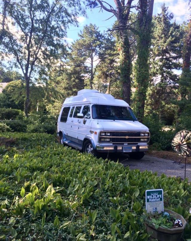 van life camping New England Cape Cod Roadtrip