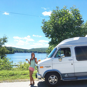 19 Year Old Girl Travels in a Van Solo
