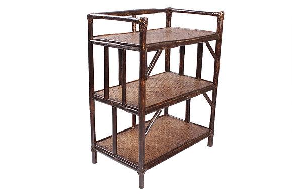 Novelty Cane Art Rack with 3 Shelves