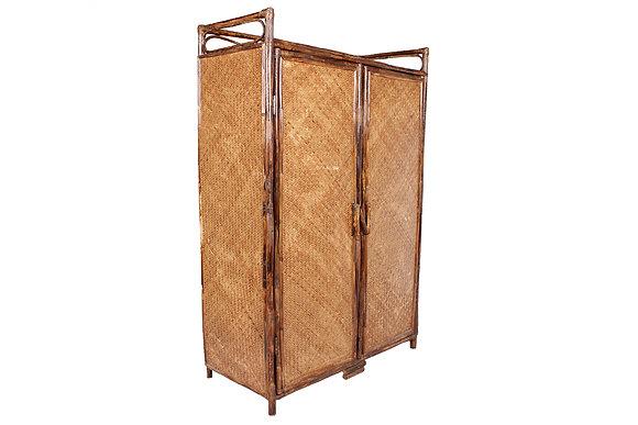 Novelty Cane Art Rattan Modern Standard Cabinet Rack: DR4BIG
