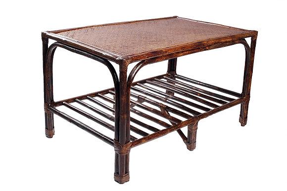 Novelty Cane Art Rattan Modern Retangular Table