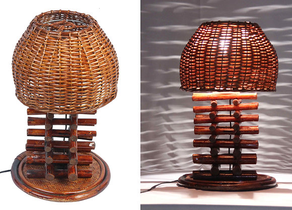 Novelty Cane Art CANE TABLE LAMP: TLKF