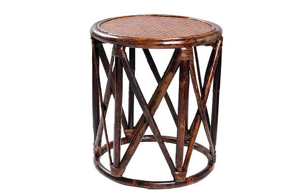 Novelty Cane Art Natural Rattan Cane Bamboo Muda Chair for Home Décor