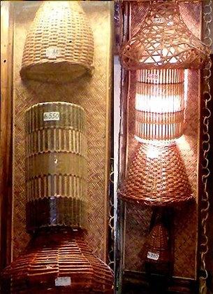Novelty Cane Art LAMPS: WALLLAMPS