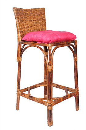 Novelty Cane Art Bar Stool Chair