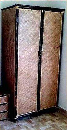 Novelty Cane Art RATTAN WARDROBE 2 DOOR: WR1