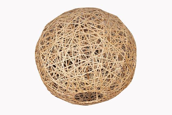 Novelty Cane Art Rattan Spherical Desiger Lamp