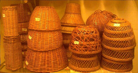 Novelty Cane Art LAMPS: HANGINGLAMPS2