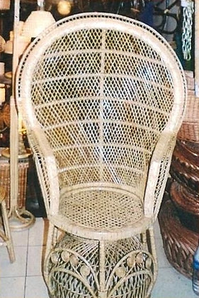 Novelty Cane Art Chair With Cushion: WCH26
