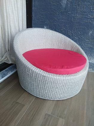 Novelty Cane Art Chair with Cushion #2