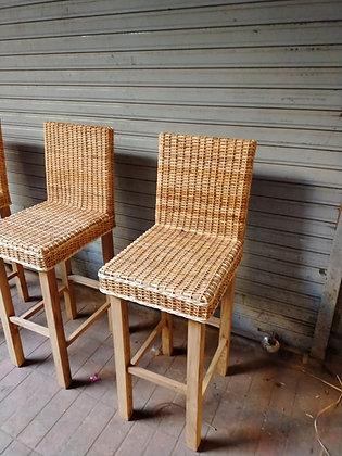 Novelty Cane Art Chair #3