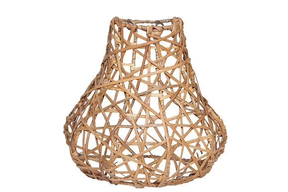 Novelty Cane Art Rattan Vase Style Wall Mount Lamp