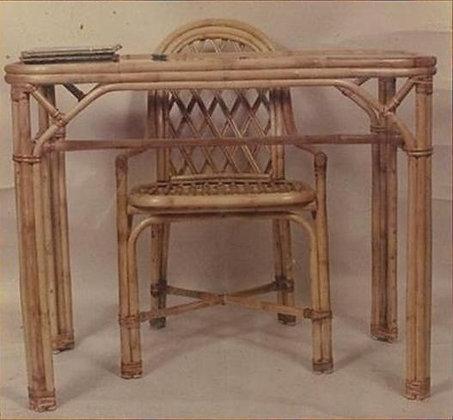 Novelty Cane Art Rectangle Study Table: WTS3