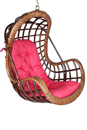 Novelty Cane Art VIPJ Swing Chair (Brown)