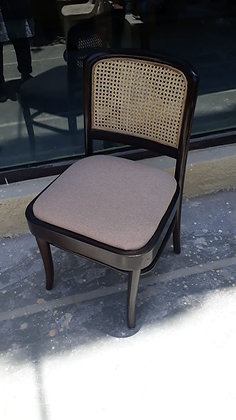 Novelty Cane Art Wooden Chair With Cane Weaving #1