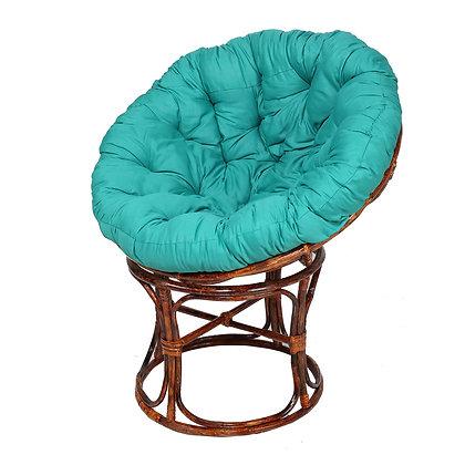 Novelty Cane Art Handmade Rattan Cane Round Papasan Detachable Chair
