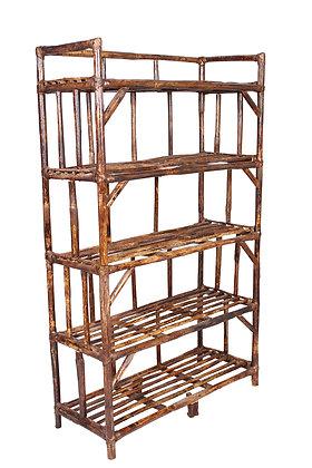 Novelty Cane Art 5 Shelves Rack