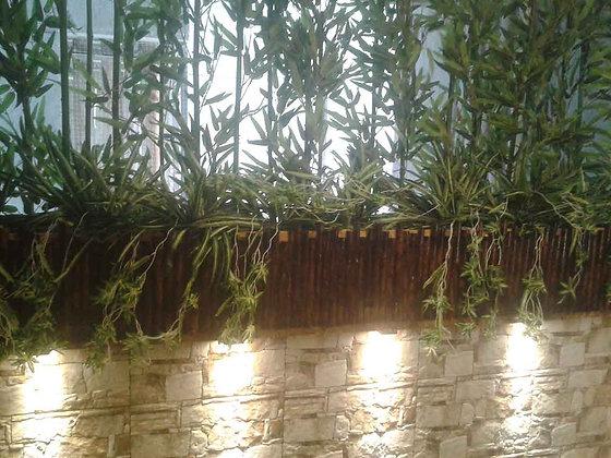 Novelty Cane Art BAMBOO PLANTER HORIZONTAL POT: BAMBOOPLANTER