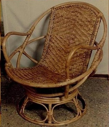 Novelty Cane Art Chair With Cushion: WCH40