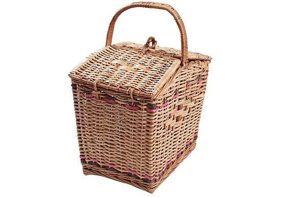 Novelty Cane Art Picnic Basket