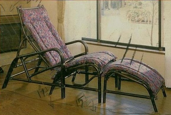 Novelty Cane Art Chair With Cushion: LC7
