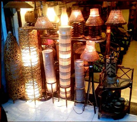 Novelty Cane Art LAMPS: LAMPS