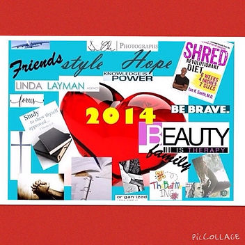 Electronic Vision Board