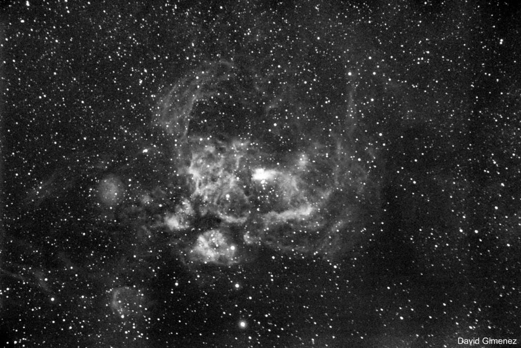 NGC6357 - The Heart Nebula
