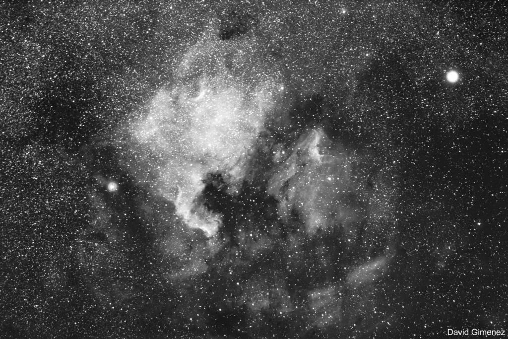 The North America Nebula Region