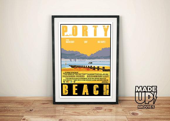 Porty Beach Movie Poster Print
