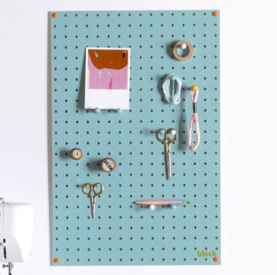 Blue Peg Board